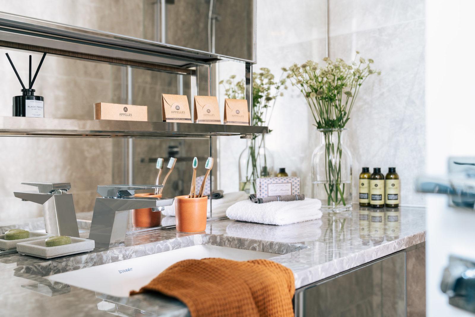 APPELLES 浴室洗漱用品 (放在登记入住时「入住欢迎礼品」内)